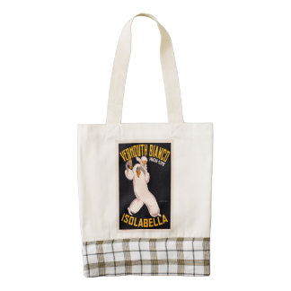 Vermouth Bianco, high-life, Isolabella Zazzle HEART Tote Bag