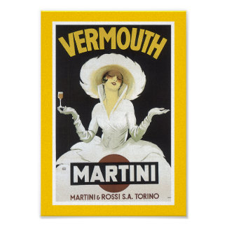Vermouth Martini Poster