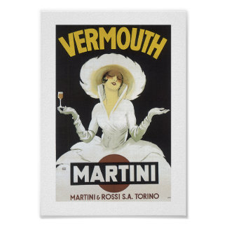 Vermú Martini Póster