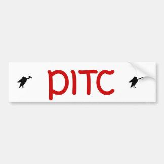 Vern y PITC Pegatina Para Auto