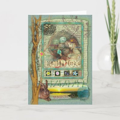 Vernal Equinox on Vernal Equinox Card By Ernestinegrin