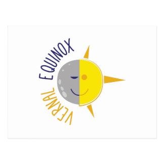 Vernal Equinox Postcard