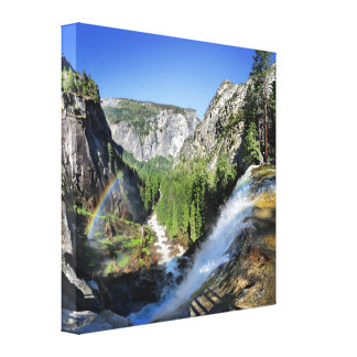 Vernal Fall from the Top - Yosemite Canvas Print