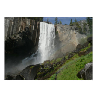 Vernal Falls I from Yosemite National Park Poster
