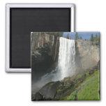 Vernal Falls I in Yosemite National Park 2 Inch Square Magnet