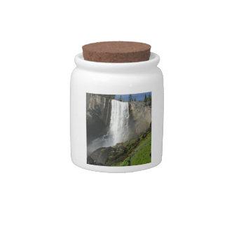Vernal Falls I in Yosemite National Park Candy Jars