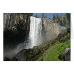 Vernal Falls I in Yosemite National Park Card
