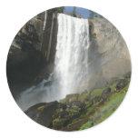 Vernal Falls I in Yosemite National Park Classic Round Sticker