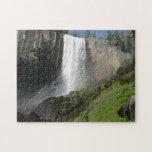 Vernal Falls I in Yosemite National Park Jigsaw Puzzle