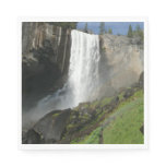 Vernal Falls I in Yosemite National Park Paper Napkin