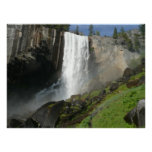 Vernal Falls I in Yosemite National Park Poster