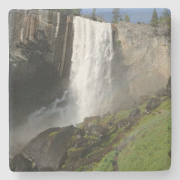 Vernal Falls I in Yosemite National Park Stone Coaster