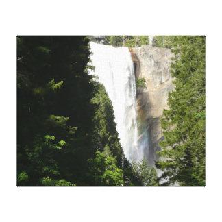 Vernal Falls II in Yosemite National Park Canvas Print