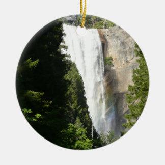 Vernal Falls II in Yosemite National Park Ceramic Ornament