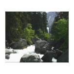 Vernal Falls in the Distance at Yosemite Canvas Print
