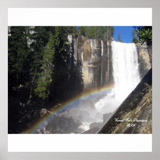 Vernal Falls Poster