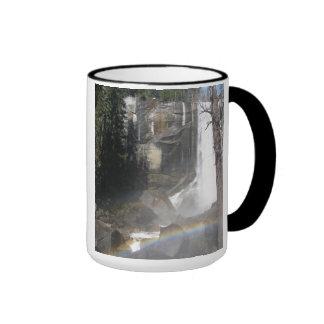 Vernal Falls Rainbow -Yosemite Ringer Mug