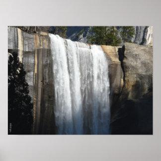 Vernal Falls - Yosemite National Park Poster