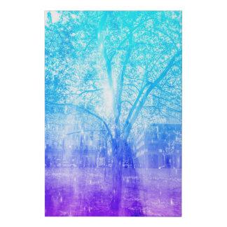 Vernal Tree Faux Canvas Print