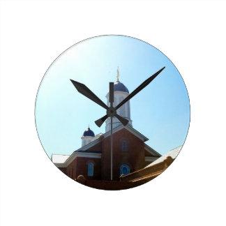 vernal utah lds mormon temple round clock