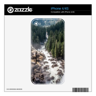 Vernall Fall and Mist Trail Skin For The iPhone 4