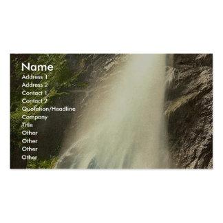 Vernayaz Cascade de Pissevache Valais Alps of Business Card Templates