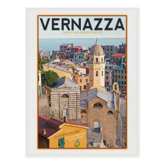 Vernazza (blanco) tarjetas postales