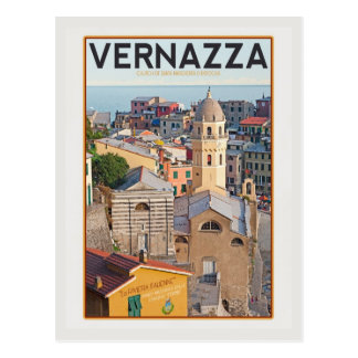 Vernazza - Church of Santa Margherita d'Antiochia Postcard