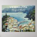 Vernazza Cinque Terre Italy Poster