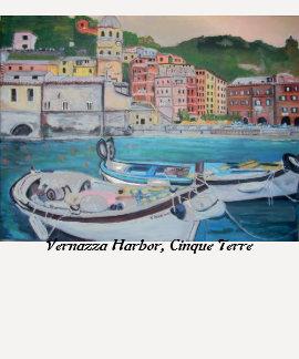 Vernazza Harbor Shirt