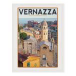 Vernazza - iglesia del d'Antiochia de Santa Tarjeta Postal