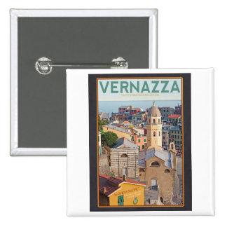Vernazza - Santa Margherita d'Antiochia - b 2 Inch Square Button