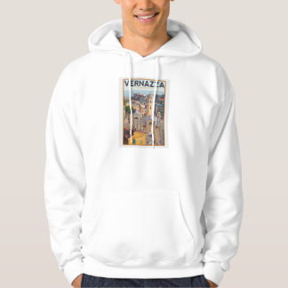 Vernazza (white) hooded pullover