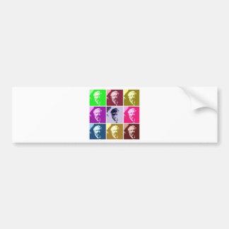 Verne PopArt Bumper Sticker
