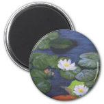 """""""Verneer's Waterlilies"""" Magnet"""