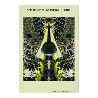 Verne's Moon Trip Poster