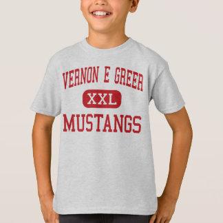 Vernon E Greer - Mustangs - Middle - Galt T-Shirt