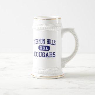Vernon Hills - Cougars - High - Vernon Hills Beer Stein