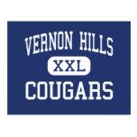 Vernon Hills - pumas - alto - Vernon Hills Postales