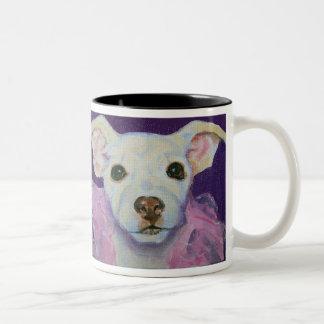 Vernon's Trixie Two-Tone Coffee Mug