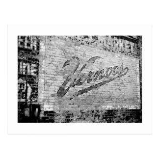 Vernors Wall Ann Arbor Michigan Brick Wall Postcard