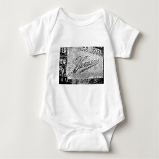 Vernors Wall Ann Arbor Michigan Vintage Brick Wall Baby Bodysuit