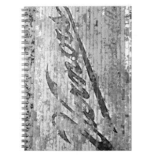 Vernors Wall Ann Arbor Michigan Vintage Brick Wall Notebook