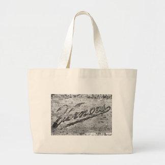 Vernors Wall Vintage Ann Arbor Michigan Jumbo Tote Bag