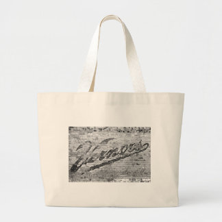 Vernors Wall Vintage Ann Arbor Michigan Large Tote Bag