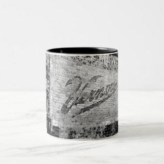 Vernors Wall Vintage Ann Arbor Michigan Retro Two-Tone Coffee Mug