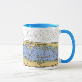 Vero Beach Harbor Navigation Chart Coffee Mug