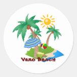 VERO BEACH Perfect Vacation sticker