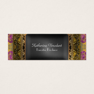 Verodart Porte  Skinny Elegant Professional Mini Business Card