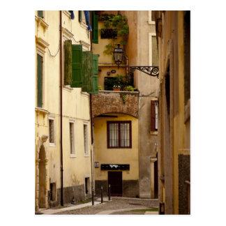 Verona Alleyway Postcard